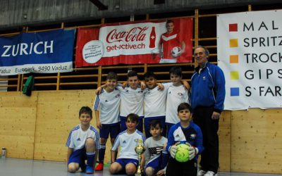 E-Junioren: Der FC Schaan war siegreich