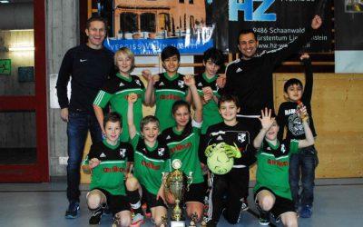 FC Ruggell (D-Junioren) und Stützpunkt Tübach (E-Junioren) siegreich