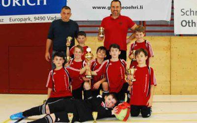 FC Sargans siegt bei den E-Junioren