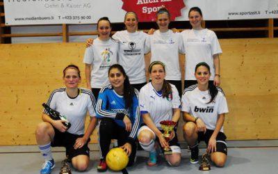 Neues Siegerteam bei den Frauen, der FC Triesen/Staad