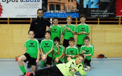 SV Frastanz U11 gewinnt E-Juniorenturnier